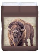 Bull Bison Duvet Cover