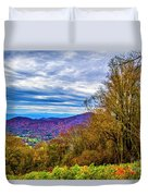 Bull Creek Valley Duvet Cover