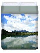Bull Lake Reflection Duvet Cover