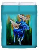 Bull Moose Duvet Cover