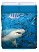 Bull Shark Duvet Cover