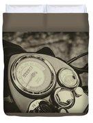 Bullet Speedometer Duvet Cover