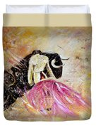 Bullfight 74 Duvet Cover
