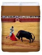 Bullfighting 21 Duvet Cover