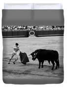 Bullfighting 22b Duvet Cover
