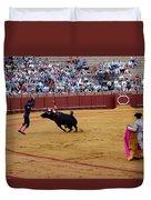 Bullfighting 35 Duvet Cover