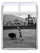 Bullfighting 36b Duvet Cover