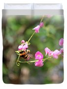 Bumble Bee2 Duvet Cover