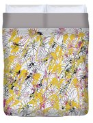 Bumble Bees Against The Windshield - Original Duvet Cover