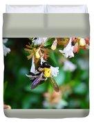 Bumblebee On Abelia Duvet Cover
