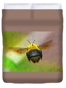 Bumblebees Flight Duvet Cover