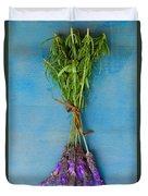 Bunch Of Lavender Duvet Cover