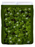 Bunchberry Carpet Duvet Cover
