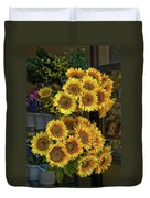 Bunches Of Sunflowers Duvet Cover