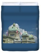 Bundeshaus The Federal Palace Duvet Cover