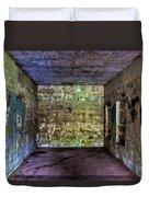 Bunker Walls Duvet Cover