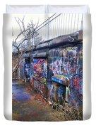Bunkers Of Ft Wetherill Duvet Cover
