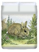 Bunnies Duvet Cover