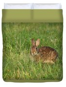 Bunny At Breakfast Duvet Cover