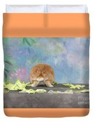 Bunny Butts Are Beautiful  Duvet Cover