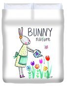 Bunny Nature Duvet Cover