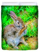 Bunny Secrets Duvet Cover