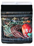 Buoy And Ropes Duvet Cover