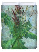 Burdock Leaves  Duvet Cover