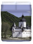Burg Pfalzgrafenstein Duvet Cover