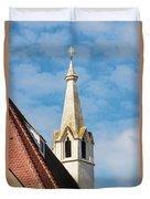 Burgerspitalkirche Duvet Cover