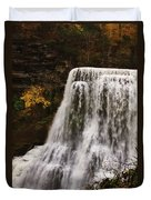 Burgess Fall Tennessee Duvet Cover