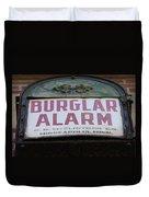 Burglar Alarm Duvet Cover