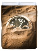 Buried In The Sands Of Time Duvet Cover