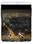 Burj Khalifa Dubai Duvet Cover