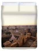 Burma Landscape Duvet Cover