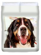 Burmese Mountain Dog Duvet Cover