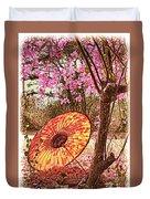 Burmese Spring Duvet Cover