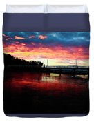 Burn Sunset Duvet Cover