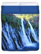 Burney Falls  Duvet Cover