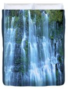 Burney Falls Mist Mcarthur Burney Sp California  Duvet Cover
