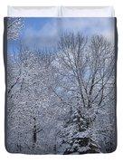 Burnidge Winter Duvet Cover