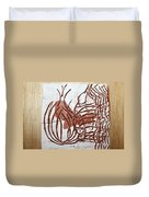 Burning Bush - Tile Duvet Cover