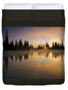 Burning Dawn Duvet Cover