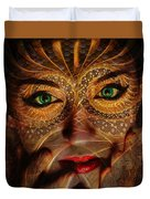 Burnished Gold Duvet Cover