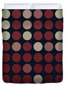 Burnt Dots Duvet Cover