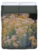 Burro Bush Duvet Cover