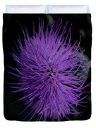 Burst Of Violet Duvet Cover