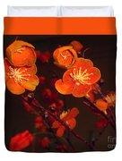Bursting Into Bloom Duvet Cover