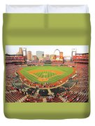 Busch Before The Game Duvet Cover