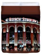 Busch Stadium Duvet Cover